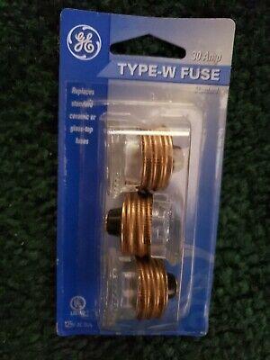 Type W Fuse 30 Amp Three Pack X5 - 15 Fuses