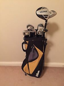 Wilson right handed golf clubs full set Meadowbank Ryde Area Preview