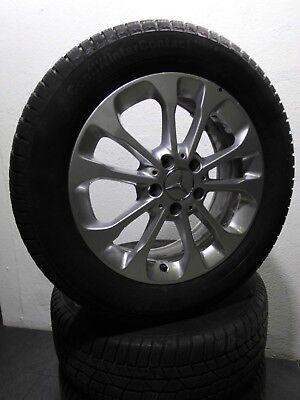 """4 Winterreifen 215 60 R17 Original Mercedes GLA Klasse X156 W156 17"""" Alu. RDK"""
