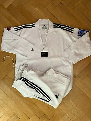 ADIDAS Taekwondo Dobok / Anzug Gr. 160 weißer Kragen