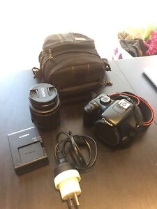 Canon EOS 1100D/REBEL T3 DSLR Camera and 18-55mm IS II Lens Kit