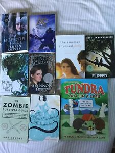 Books 2$ each or all for 10$