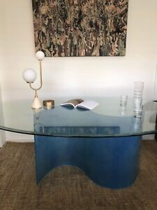 Blue Wave Dining Table