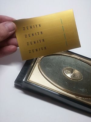 Zenith Royal 500H Gold Label Replacement Kit Make It Look New Again For Gh Wh Yh