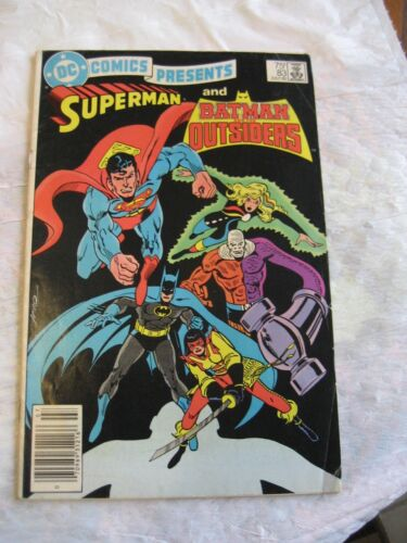 SUPERMAN AND BATMAN AND THE OUTSIDERS #83 fine condition 1985