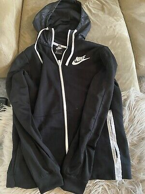 nike hooded jacket Size M