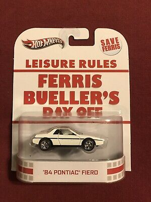 HOT WHEELS 1984 PONTIAC FIERO FERRIS BEULLERS DAY OFF RETRO ENTERTAINMENT