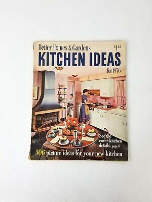 📖 Better Homes and Gardens 1956 Kitchen Ideas Retro Mid Century Remodeling