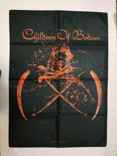 Vintage   CHILDREN OF BODOM    Unused  2006 TEXTILE POSTER FLAG