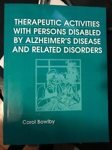 Therapeutic Activities with Person's Disabled by Alzheimer's