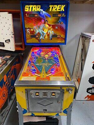 BALLY 1979 STAR TREK PINBALL MACHINE ORIGINAL SERIES KIRK, BONES SPOCK MCCOY