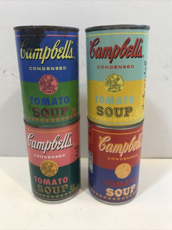 Andy Warhol Target exclusive Campbell Soup Can Complete Set