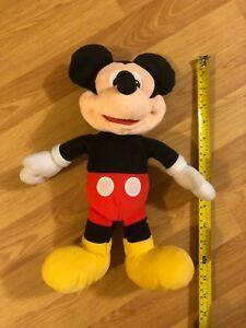 Mickey Mouse talking plush