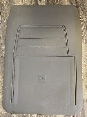 OEM NOS GM Chevy GMC  floor mat 1988-1998 Truck C10 Suburban Van Gray Left Front