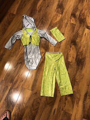 Childs Size Small HIP HOP DANCE Wear / Dress Up 4 Piece with Buff, HALLOWEEN
