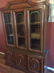 Selling my 2 peice china cabinet