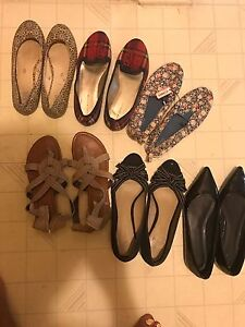 Ladies Flat Shoes Size 7.5 and 8
