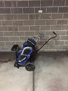 Full set of cougar golf clubs, bag & buggy Artarmon Willoughby Area Preview