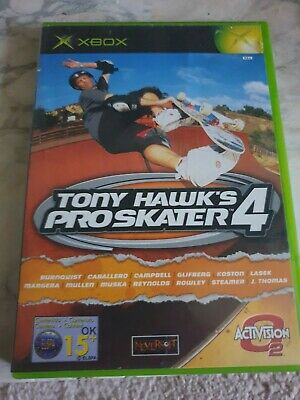 Tony Hawk's Pro Skater 4 - Microsoft Xbox (2002) UK PAL