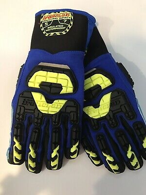 New - Size Small Ironclad Vibram Insulated Waterproof Work Gloves Vib-iwp-02-s