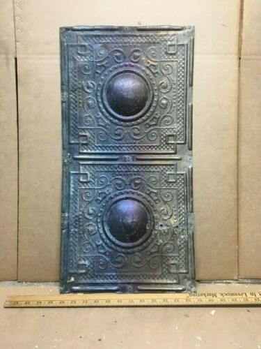 "1pc of 24"" by 12"" Antique Ceiling Tin Metal Reclaimed Salvage Art Craft"