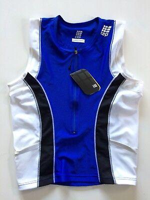 CEP Herren Power Triathlon Tri Top - Farbe Blau - Größe S - UVP 69,90