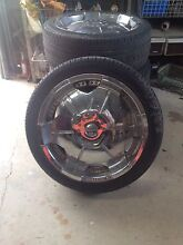 18 inch rims and tyres 6 stud 'bravo, courier, some vans etc..' Royalla Queanbeyan Area Preview