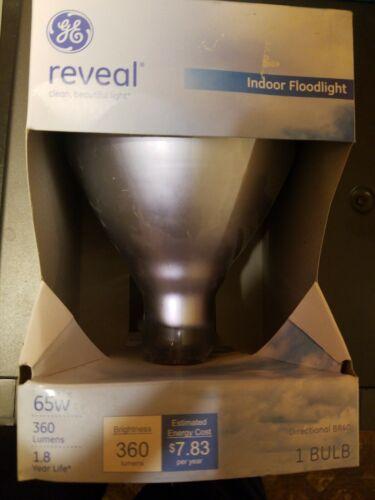 GE Lighting 87904 65-Watt BR40 Reveal Floodlight, 1-Pack