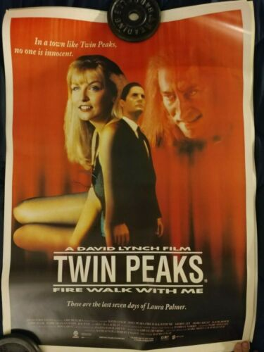 Twin Peaks Fire Walk With Me Movie Poster   25 X 35