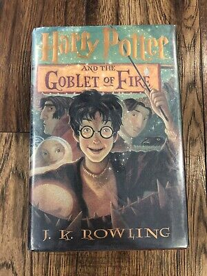 J. K. Rowling - Harry Potter and the Goblet of Fire - Hardcover Dust Jacket