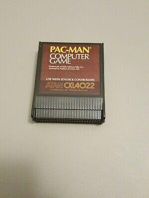 Pac Man CXL4022 Atari 400 800 Computer Video Game Cartridge