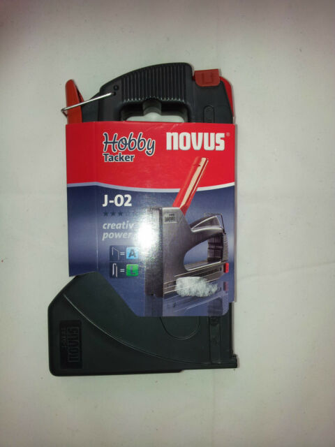 Tacker Hobbytacker Handtacker Novus J-02 mit Griffverriegelung        .    A10.5
