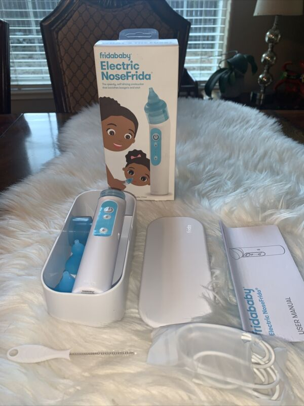 Fridababy NoseFrida® Electric Nasal Aspirator new open box
