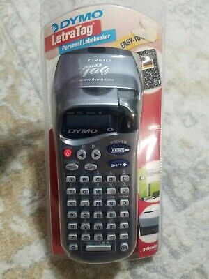 Dymo Letratag Personal Handheld Label Maker New Sealed Must See