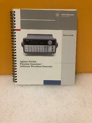 Agilent 33120-90014 Function Generator Waveform Generator Service Guide