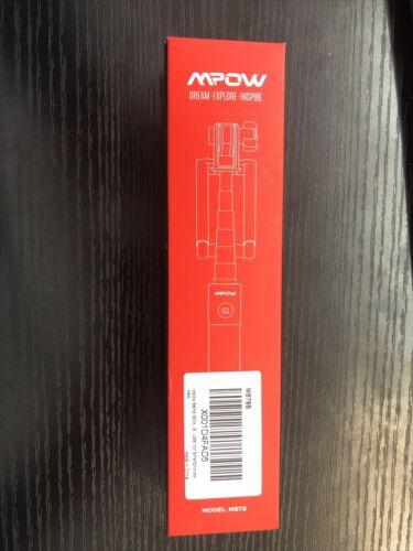 Mpow Selfie Stick Bluetooth iSnap Extendable Monopod with Bu