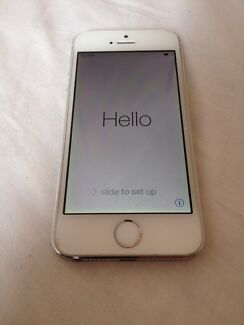 16GB Apple IPhone 5s *white/silver- Second Hand -  Bondi Eastern Suburbs Preview