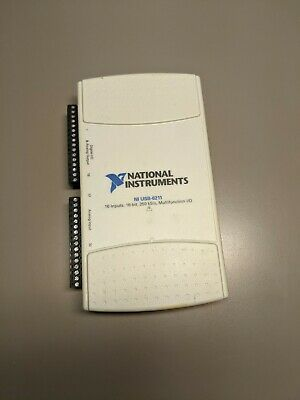 National Instruments Ni Usb-6211 Multifunction Data Acquisition Device
