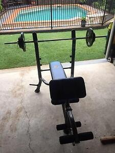 Marcy Weight Bench Fitness Set Cleveland Redland Area Preview