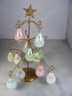 Joan Rivers Gold Toned Classics Collection 12 Ornament Metal Tree Stand/Display