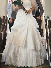 Wedding Dress - Roz La Kelin size 10 Burton Salisbury Area Preview