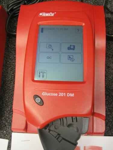 HemoCue Glucose 201 DM - 121422, 201DM w secondary docking station, power cord