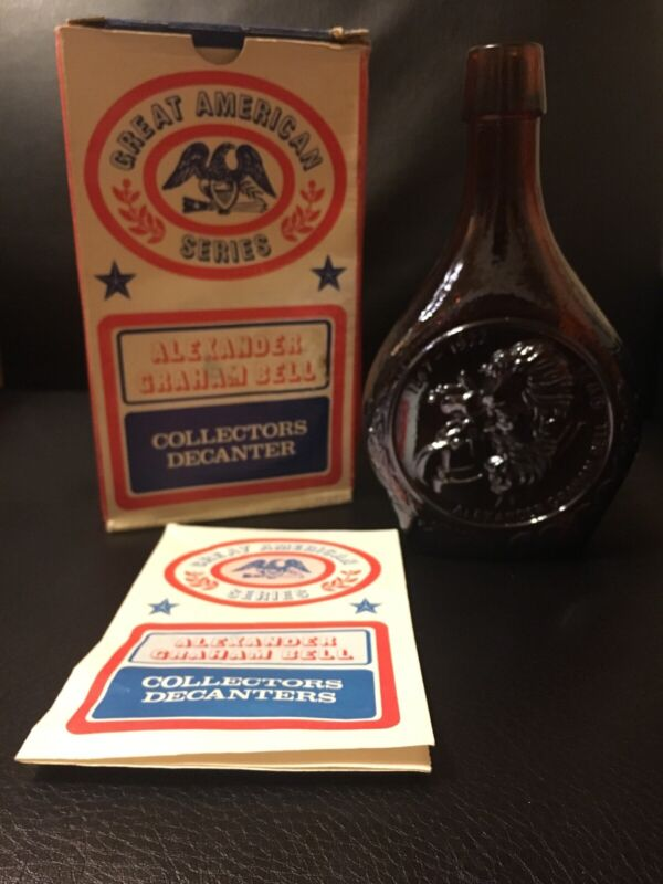 Wheaton Alexander Graham Bell - Limited Edition Collectors Decanter w/ Box