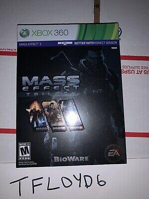 Mass Effect Trilogy (Microsoft Xbox 360, 2012)