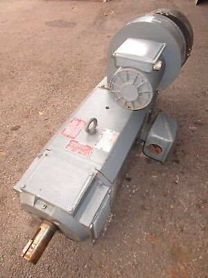 Reliance Electric 50 HP DC Motor C2514ATZ 1150 RPM 240V Shunt 50HP RPM III CONT