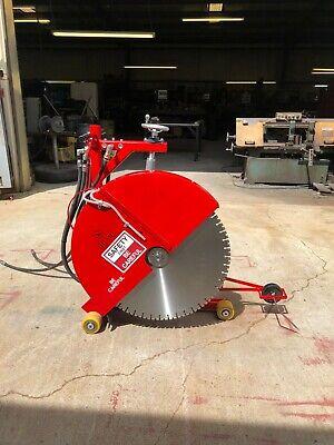 Hydraulic Concrete Cutting Walk Behind Push Adjustable Saw - 20