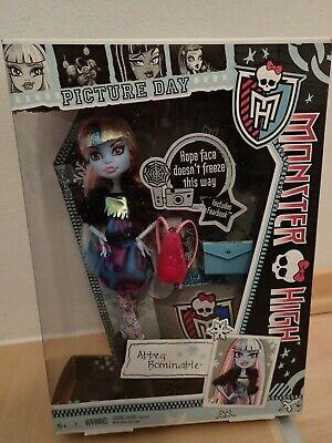 Monster High Abbey Bominable Picture Day Neu NRFB