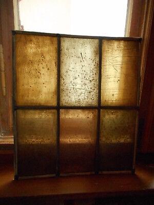 Antikes altes Kirchenfenster Bleiverglasung, Glas, Fenster