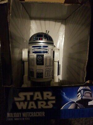STAR WARS R2-D2 Nutcracker Holiday Christmas Decoration 2010 Kurt Adler