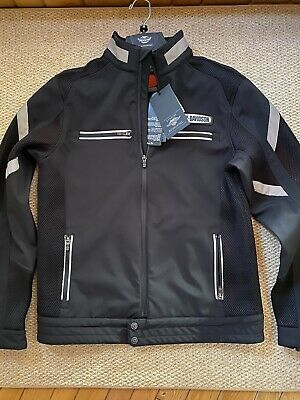 Harley-Davidson® Medium, Men's Performance Soft Shell & Mesh Jacket 97518-19VM